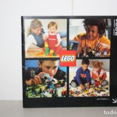 Juguetes antiguos: CATÁLOGO LEGO 2001. Lote 222046958