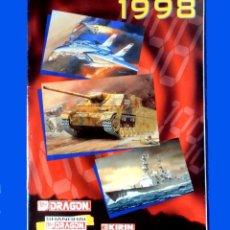 Juguetes antiguos: CATÁLOGO DRAGON 1998 - MODELISMO - ESCAPARATE DE MAQUETAS A ESCALA - SHANGHAI-DRAGON. Lote 222177275
