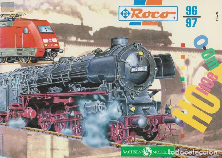CATÁLOGO ROCO 1996-1997 FRANCÉS 1:87 H0-H0E-0-0M (Juguetes - Catálogos y Revistas de Juguetes)
