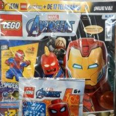 Giocattoli antichi: REVISTA LEGO MARVEL AVENGERS N. 1 - INCLUYE SOBRE CON FIGURITA (PRECINTADA). Lote 242813485