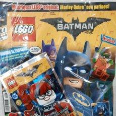 Giocattoli antichi: REVISTA LEGO BATMAN N. 4 - INCLUYE SOBRE CON FIGURITA (PRECINTADA). Lote 223450737