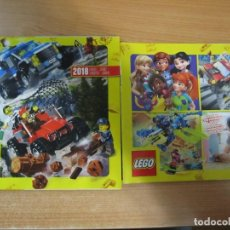 Juguetes antiguos: LOTE 2 CATALOGOS LEGO 2018 2020. Lote 224010752