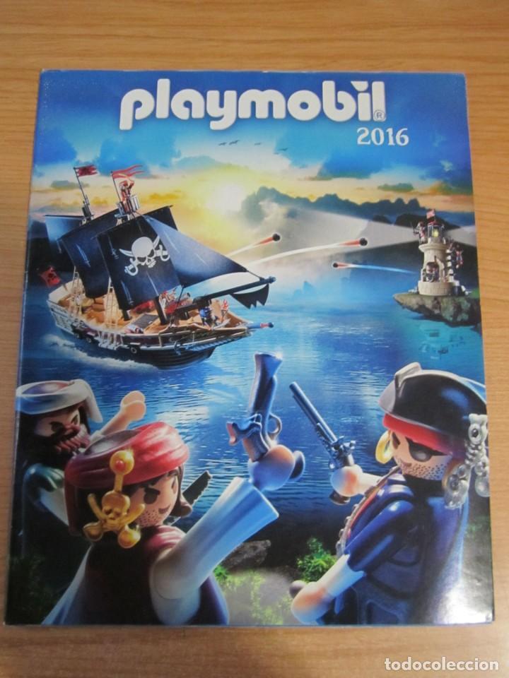 Juguetes antiguos: lote catalogos playmobil 2016 2017 2020 - Foto 2 - 224010851