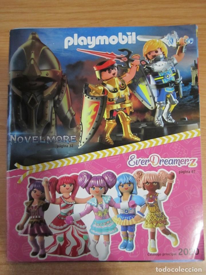 Juguetes antiguos: lote catalogos playmobil 2016 2017 2020 - Foto 4 - 224010851