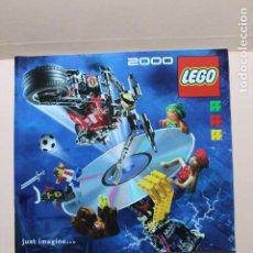 Juguetes antiguos: REVISTA DE JUGUETES. AÑO 2000. LEGO. 64 PAGINAS. MEDIDAS 21 X 19,5 CM. PERFECTO. VER FOTOS. Lote 224133205