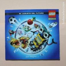 Juguetes antiguos: REVISTA DE JUGUETES. AÑO 2000. LEGO. 80 PAGINAS. MEDIDAS 21 X 19,5 CM. PERFECTO. VER FOTOS. Lote 224133255