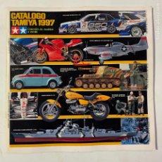Giocattoli antichi: CATALOGO DE 1995 TAMIYA MODELOS A ESCALA MODELISMO COCHES AVIONES BARCOS MOTOS TANQUES. Lote 224767180