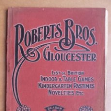 Juguetes antiguos: PRECIOSO Y RARO CATALOGO JUGUETES INGLES - ROBERTS BROS. GLOUCESTER - AÑO 1915-1916. Lote 224886045