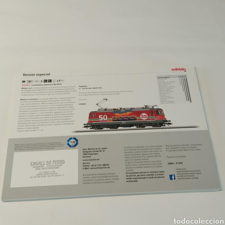 Juguetes antiguos: Catálogo de trenes Marklin novedades 2018 - Foto 2 - 225787180