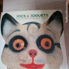 Juguetes antiguos: JOCS & JOGUETS. MUSEU DEL JOGUET DE CATALUNYA. FIGUERES. CATALÁ - ESPAÑOL - ENGLISH. VV.AA. Lote 227816855