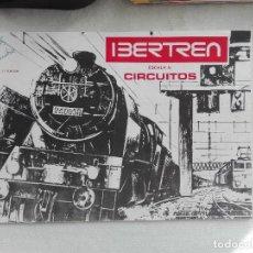 Juguetes antiguos: FOLLETO IBERTREN - ESCALA N - CIRCUITOS - 2ª EDICION 1976 - 8PG -. Lote 228116178