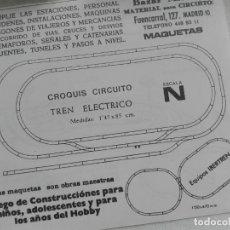 Juguetes antiguos: HOJA PAPEL DOS CARAS PUBLICIDAD IBERTREN / BAZAR MATEY MADRID. Lote 228118715