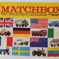 Jouets Anciens: CATÁLOGO LESNEY MATCHBOX 1967 COLLECTOR'S CATALOGUE INTERNATIONAL EDITION. Lote 229812040