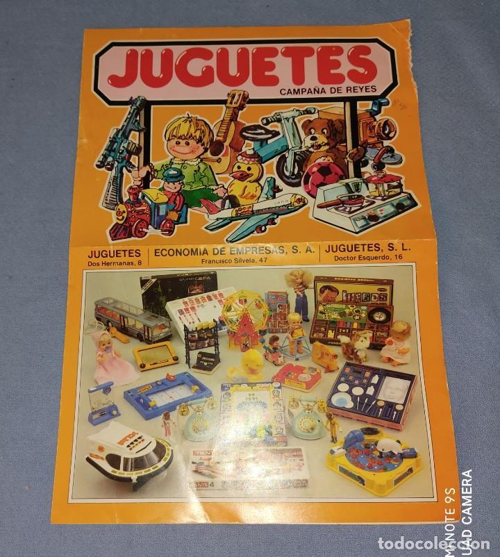 CATALOGO JUGUETES CAMPAÑA DE REYES CON FOTOS DE MADELMAN NANCY RICO FAMOBIL ETC ORIGINAL AÑOS 70/80 (Juguetes - Catálogos y Revistas de Juguetes)
