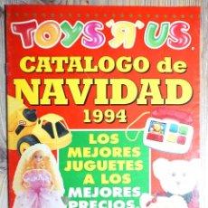 "Juguetes antiguos: CATÁLOGO JUGUETES TOYS""R""US TOYS R US NAVIDAD 1994 CARTA REYES MAGOS 1995. Lote 233616020"