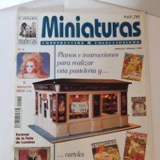 Juguetes antiguos: REVISTA MINIATURAS CONSTRUCCIÓN Y COLECCIONISMO Nº 10 MARIQUITA PÉREZ, BEBÉ J.M.. Lote 234054740