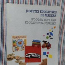 Juguetes antiguos: CATALOGO GOULA 1995. Lote 234914620