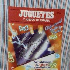 Juguetes antiguos: REVISTA JUGUETES Y JUEGOS DE ESPAÑA Nº 134 JUNIO/JULIO 1995. Lote 234938640