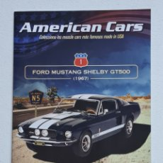Juguetes antiguos: COCHES COLECCION AMERICAN CARS FORD MUSTANG SHELBY GT500 FASCICULO 1 ALTAYA. Lote 235627490