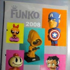 Juguetes antiguos: CATÁLOGO FUNKO 2008 STAR WARS MARVEL COMICS CARTOON SIMPSONS FUTURAMA BETTY BOOP LOONEY TUNES HANNA. Lote 237493545
