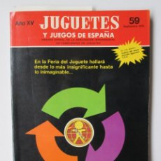 Giocattoli antichi: JUGUETES Y JUEGOS DE ESPAÑA 59. AÑO 1976. PUBLICIDAD GEYPERMAN GEYPER . ENVIO INCLUIDO. Lote 238378090