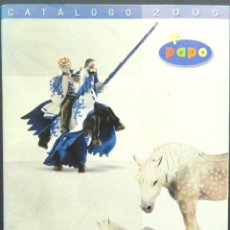 Juguetes antiguos: CATÁLOGO DE JUGUETES PAPO, 2005. Lote 240953665