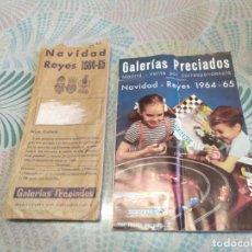 Giocattoli antichi: ANTIGUO CATÁLOGO DE JUGUETES GALERÍAS PRECIADOS NAVIDAD REYES 1964-65,PAYA,RICO MUÑECAS FAMOSA,ETC,. Lote 242271680
