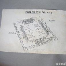 Juguetes antiguos: INSTRUCCIONES ORIGINALES DEL EXIN CASTILLOS Nº 2 - VER DESCRIPCIÓN. Lote 242867705