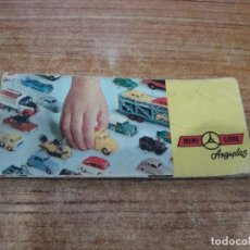 Juguetes antiguos: CATALOGO MINI CARS ANGUPLAS. Lote 243120700