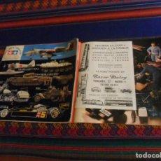 Juguetes antiguos: TAMIYA CATALOGUE CATÁLOGO 1978 1979 BAZAR MATEY DE MADRID PUBLICIDAD SCALEXTRIC IBERTREN REGALO 1994. Lote 243133175