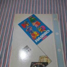 Brinquedos antigos: CARPETA VACIA Y TARIFAS CORRESPONDIENTES A LOS CATALOGOS HASBRO Y PARKER 1992. Lote 243276995