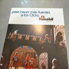 Giocattoli antichi: PUBLICIDAD FAMOBIL DE FAMOSA CUNAS ILUBA. Lote 244015915