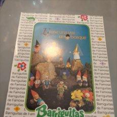 Giocattoli antichi: PUBLICIDAD BARRIGUITAS DE FAMOSA Y TREN DE FAMOBIL PLAYMOBIL ZOO SAFARI. Lote 244202365