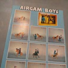 Juguetes antiguos: PUBLICIDAD AIRGAM BOYS CONGOST LOS IMPOSIBLES RESCATE ESPACIAL XYLOMATIC AUTRO CROSS MISS MONEY. Lote 244203630