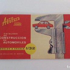 Juguetes antiguos: CATÁLOGO DE AUTOESCALA DE PAYA. Lote 244716840