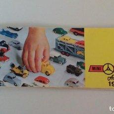 Juguetes antiguos: CÁTALOGO MINI-CARS ANGUPLAS 1964. Lote 244722655