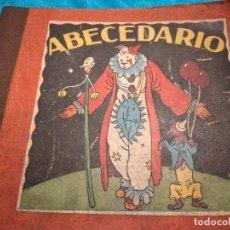 Juguetes antiguos: PRECIOSO LIBRO ABECEDARIO DIBUJOS MALLOL. Lote 244734435