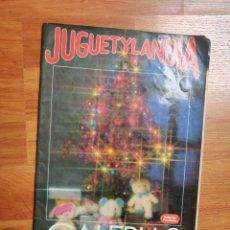 Juguetes antiguos: JUGUETYLANDIA CATÁLOGO JUGUETES GALERÍA PRECIADOS AÑO 87-88. Lote 244994720