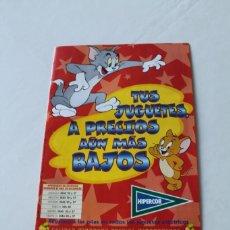Juguetes antiguos: CATALOGO DE JUGUETES. NAVIDAD AÑO 1998. HIPERCOR. MUY RARO. EN PESETAS. VER FOTOS. Lote 247007655
