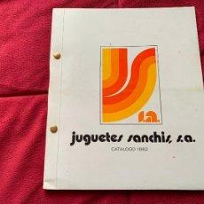 Juguetes antiguos: CATALOGO JUGUETES SANCHIS 1982. Lote 248007765