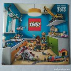 Juguetes antiguos: CATALOGO JULIO DICIEMBRE LEGO STAR WARS WINNIE PROMOCIONAL FOLLETO DUPLO STAR WARS 2013 DISNEY TMNT. Lote 254003245