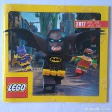 Juguetes antiguos: CATALOGO ENERO JUNIO 2017 LEGO STAR WARS NINJAGO MINI FIGURES FOLLETO DUPLO CREATOR FRIENDS VAIANA. Lote 254010525