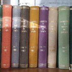 Juguetes antiguos: JUGUETES Y JUEGOS DE ESPAÑA 12 TOMOS. DEL AÑO 62 AL 73. COMPLETOS. MAS DE 2000 PAGINAS. Lote 254365055