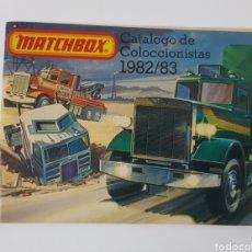 Juguetes antiguos: MATCHBOX CATALOGO DE COLECCIONISTAS 1982/83 / EN ESPAÑOL. Lote 254399360