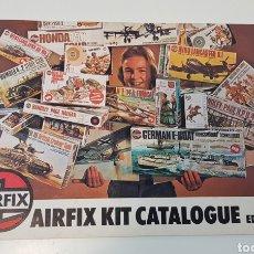 Juguetes antiguos: AIRFIX CATALOGO EDICION 13 - CATÁLOGO JUGUETES MODELISMO MAQUETAS AÑO 1976. Lote 254401140