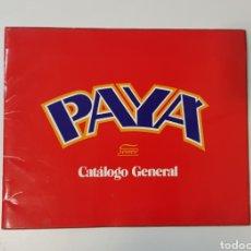 Juguetes antiguos: PAYA CATALOGO GENERAL / AÑO 1980 EN ADELANTE / EN ESPAÑOL. Lote 254404410