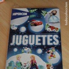 Juguetes antiguos: CATALOGO REVISTA DE JUGUETES. HIPERCOR. NAVIDAD DE 2015 - REYES 2016. 180 PAGINAS. CON PRECIOS.. Lote 255433235