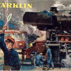 Juguetes antiguos: CATÀLOGO MÄRKLIN 1956 SPUR HO METALLBAUKASTEN ELEX AUTO SWEDISCHE AUSGABE - EN SUECO. Lote 261257080