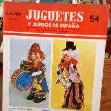 Juguetes antiguos: JUGUETES Y JUEGOS DE ESPAÑA - 54 - 1975 - NANCY - PAYA - MADELMAN - GEYPERMAN - RICO.... Lote 264055435