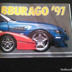 Juguetes antiguos: CATÁLOGO BBURAGO 97 BURAGO 1997 COCHES A ESCALA - MINIATURAS - JUGUETES. Lote 267660869